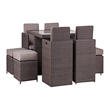 Buy Royalcraft Saint-Tropez 8-Seat Cube Set Online at johnlewis.com