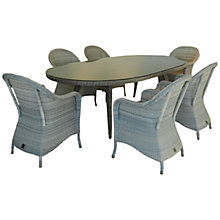 Buy 4 Seasons Outdoor Java 6-Seater Oval Dining Set Online at johnlewis.com