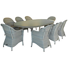 Buy 4 Seasons Outdoor Java 8-Seater Oval Dining Set Online at johnlewis.com