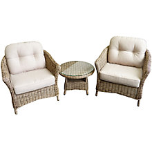 Buy Leisuregrow Saigon Outdoor Lounge Set Online at johnlewis.com