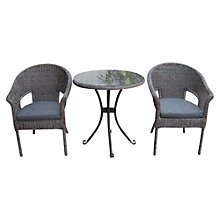 Buy LG Outdoor Saigon Colonial Weave Bistro Set Online at johnlewis.com