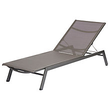 Buy Barlow Tyrie Cayman Sunlounger, Graphite Online at johnlewis.com