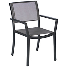 Buy Barlow Tyrie Cayman Outdoor Dining Chair, Graphite Online at johnlewis.com