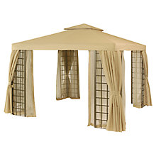 Buy Suntime Barbados Curtained Gazebo with Nets Online at johnlewis.com