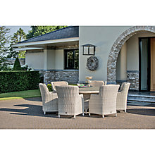 Buy 4 Seasons Outdoor Brighton 6-Seater Round Dining Set, Praia Online at johnlewis.com