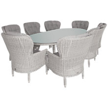 Buy 4 Seasons Outdoor Buckingham 8-Seater Oval Dining Set Online at johnlewis.com