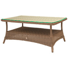 Buy 4 Seasons Outdoor Brighton Coffee Table, Pure Online at johnlewis.com
