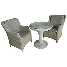 Buy 4 Seasons Outdoor Brighton Bistro Set, Pure Online at johnlewis.com