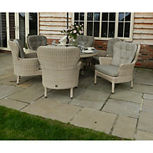 Buy 4 Seasons Outdoor Buckingham 6-Seater Round Dining Set Online at johnlewis.com