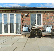 Buy 4 Seasons Outdoor Buckingham Bistro Set, Pure Online at johnlewis.com