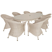 Buy 4 Seasons Outdoor Chester 8-Seater Oval Dining Set, Praia Online at johnlewis.com