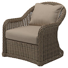 Buy Gloster Havana Outdoor Armchair, Caramel Online at johnlewis.com