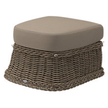 Buy Gloster Havana Outdoor Footstool, Caramel Online at johnlewis.com