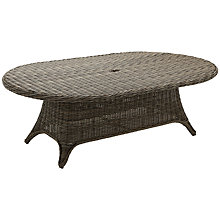 Buy Gloster Havana 8-Seater Outdoor Dining Table, Caramel Online at johnlewis.com