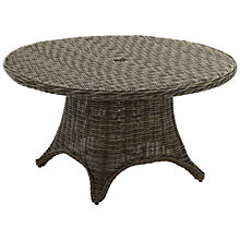 Buy Gloster Havana 4-Seater Outdoor Dining Table, Caramel Online at johnlewis.com