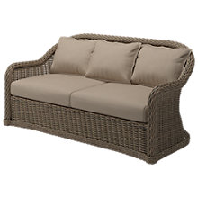 Buy Gloster Havana 2-Seater Outdoor Sofa, Caramel Online at johnlewis.com