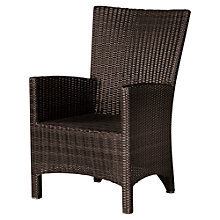 Buy Barlow Tyrie Savannah Outdoor Dining Armchair, Natural Online at johnlewis.com