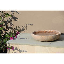 Buy Foras Rainbow Birdbath Feeder Online at johnlewis.com