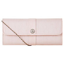 Buy Jacques Vert Diamante Trim Bag, Light Pink Online at johnlewis.com