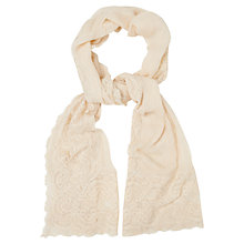 Buy Phase Eight Gabriella Lace Wrap, Champagne Online at johnlewis.com