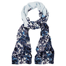 Buy Phase Eight Anju Print Scarf, Pale Blue Online at johnlewis.com