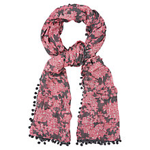 Buy Phase Eight Jeannie Pom Pom Scarf, Multi Online at johnlewis.com