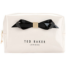 Buy Ted Baker Ameliia Large Bow Wash Bag Online at johnlewis.com