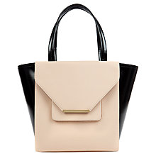 Buy Ted Baker Roselle Large Shopper Bag, Taupe Online at johnlewis.com