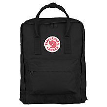 Buy Fjallraven-Kanken 550 Backpack, Black Online at johnlewis.com