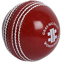 Buy Gray-Nicolls 4.75oz Wonderball Cricket Ball, Red Online at johnlewis.com