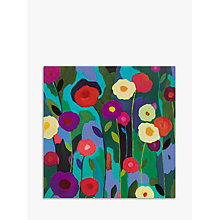 Buy Woodmansterne Purple And Red Flowers Greeting Card Online at johnlewis.com