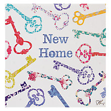 Buy Card Mix Keys New Home Greeting Card Online at johnlewis.com