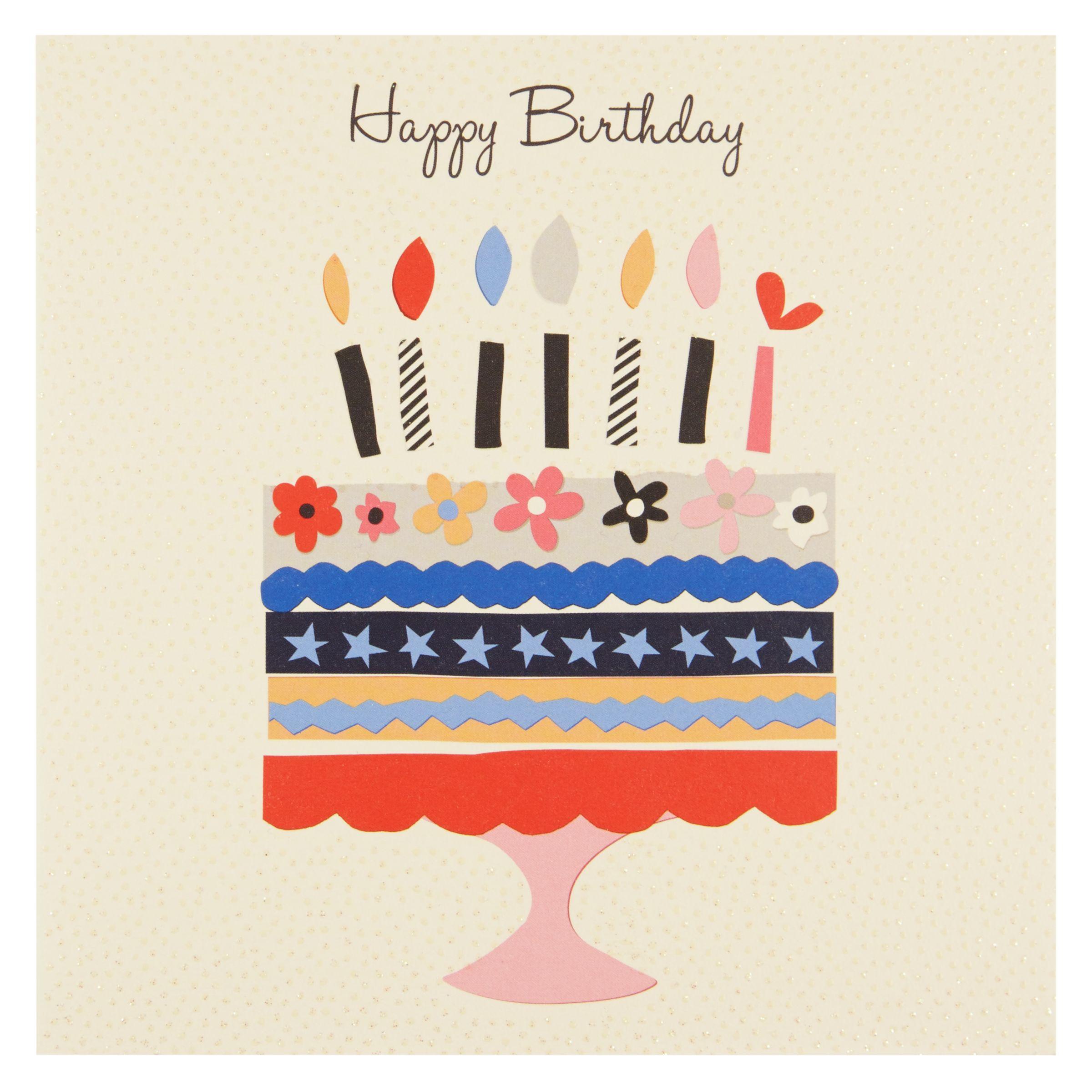 Birthday Cake John Lewis : Buy Pigment Birthday Cake Greeting Card John Lewis