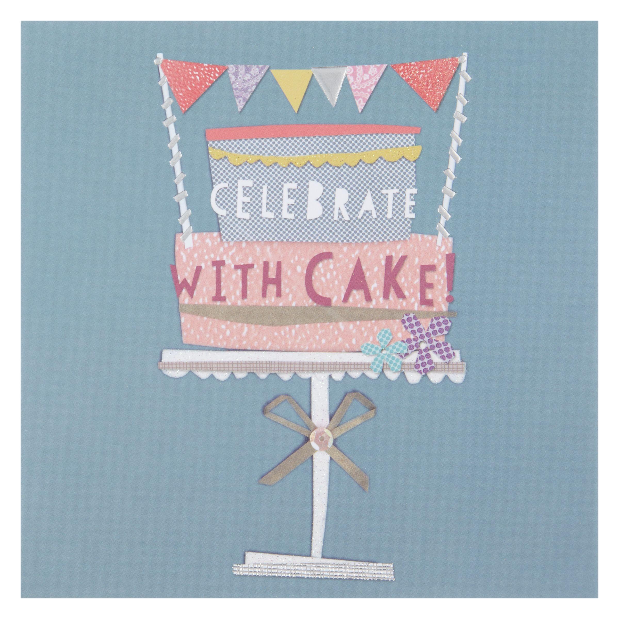 Birthday Cake John Lewis : Buy Hotchpotch Cake Birthday Card John Lewis