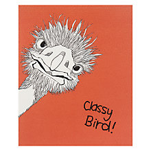 Buy Really Good Classy Bird Greeting Card Online at johnlewis.com