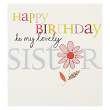 Buy Caroline Gardner My Sister Greeting Card Online at johnlewis.com