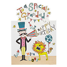 Buy Rachel Ellen Special Grandad Birthday Card Online at johnlewis.com