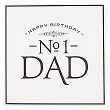 Buy Pigment No 1 Dad Birthday Card Online at johnlewis.com