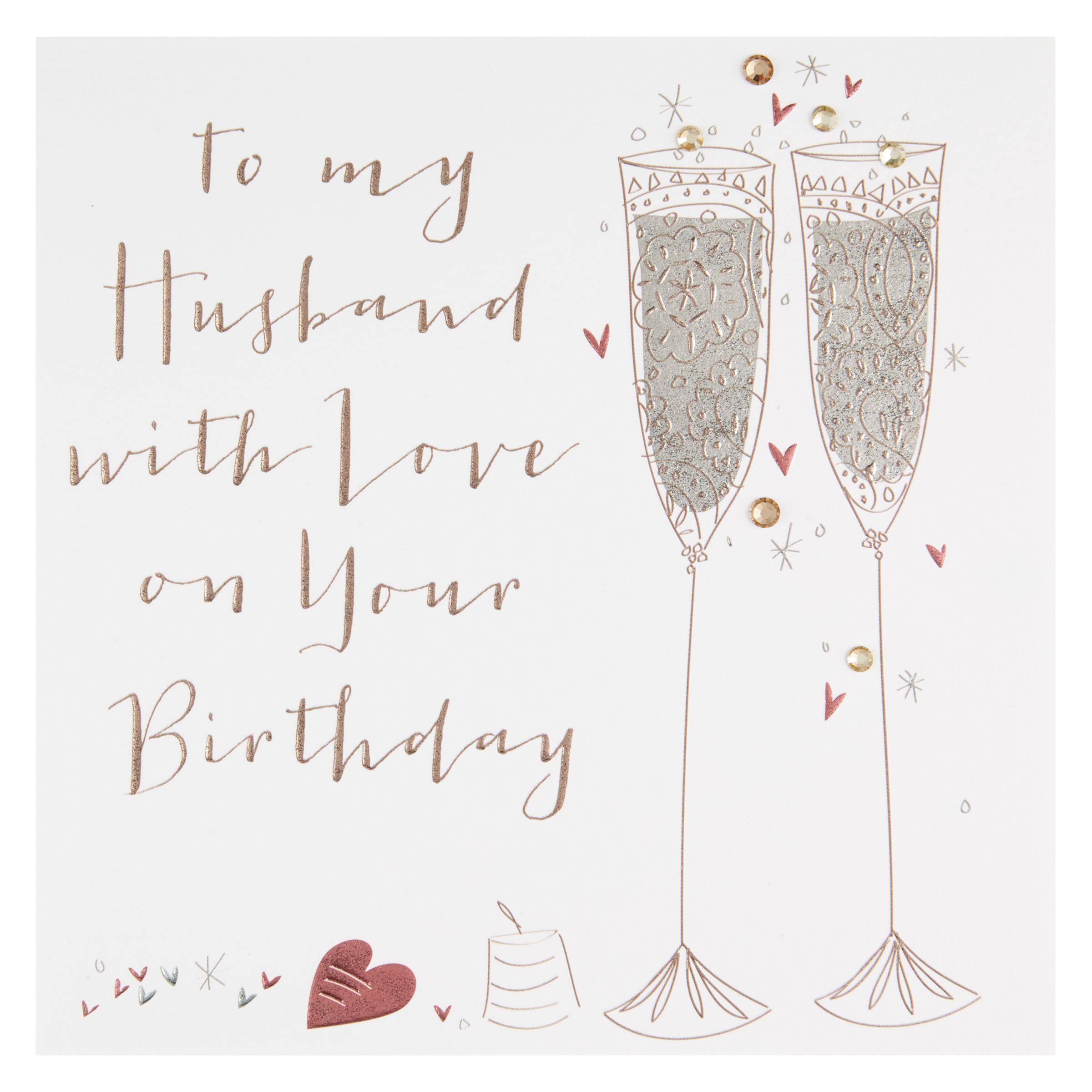Ruby Wedding Gift Ideas John Lewis : Buy Belly Button Designs Husband Birthday Card Online at johnlewis.com