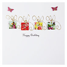 Buy Evie & Me Small Parcels Birthday Card Online at johnlewis.com