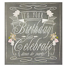 Buy Caroline Gardner Time To Party Greeting Card Online at johnlewis.com