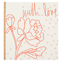 Buy Caroline Gardner With Love Flower Greeting Card Online at johnlewis.com
