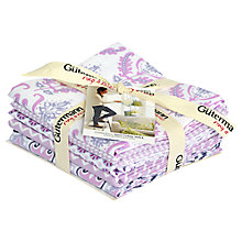 Buy Gutermann Notting Hill Fabric, Pack of 5, Lilac Online at johnlewis.com