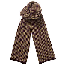 Buy Jigsaw Houndstooth Felted Knit Scarf Online at johnlewis.com