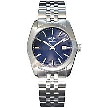 Buy Rotary Men's Lausanne Stainless Steel Bracelet Strap Watch Online at johnlewis.com