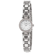 Buy kate spade new york 1YRU0768 Women's Tiny Pave Gramercy Watch, Silver Online at johnlewis.com