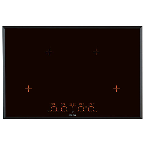 buy aeg hk874400fb extra wide maxisense induction hob. Black Bedroom Furniture Sets. Home Design Ideas