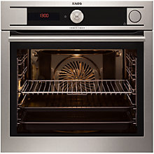 Buy AEG BS9314001M Built-In Single Electric Oven, Stainless Steel Online at johnlewis.com