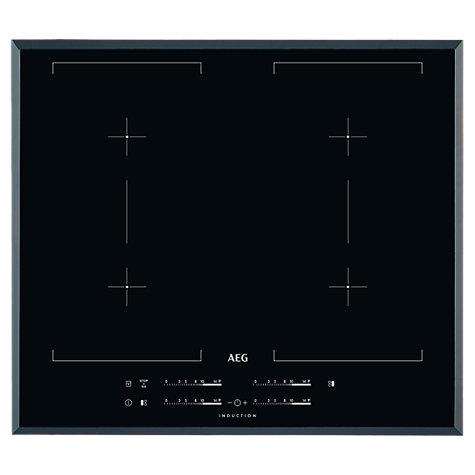 buy aeg hk654400fb maxisense induction hob black john. Black Bedroom Furniture Sets. Home Design Ideas