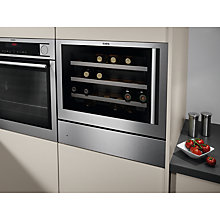 Buy AEG KD91404M Warming Drawer, Stainless Steel Online at johnlewis.com